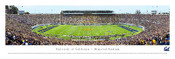 """50 Yard Line"" Cal Golden Bears at Memorial Stadium Panorama Poster"