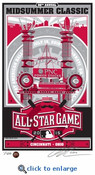 2015 MLB All-Star Game Sports Propaganda Handmade LE Serigraph