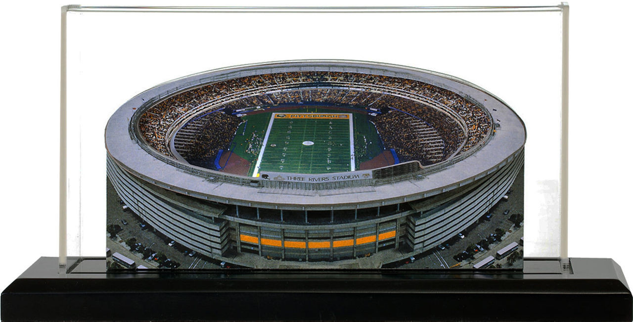 21da7a0d Three Rivers Stadium Pittsburgh Steelers 3D Stadium Replica