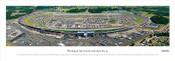 Michigan International Speedway Panoramic Poster