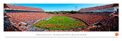 Clemson Tigers at Memorial Stadium Panoramic Poster