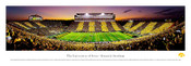 Iowa Hawkeyes at Kinnick Stadium Panoramic Poster