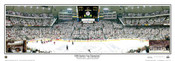 """2009 Stanley Cup Champion"" Pittsburgh Penguins Panoramic Poster"