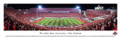 Ohio State Buckeyes 50 Yard Line at Ohio Stadium Panorama Poster