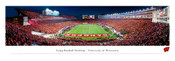 Wisconsin Badgers at Camp Randall Stadium Panoramic Poster