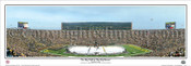 """The Big Chill at the Big House"" Michigan Panoramic Poster"