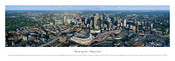 Target Field, Minneapolis Skyline Panorama Poster