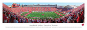 Wisconsin Badgers At Camp Randall Stadium Panorama Poster
