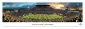 Oregon Ducks At Autzen Stadium Panoram Poster