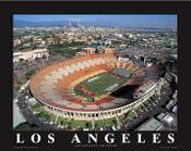 Los Angeles Coliseum Aerial Poster