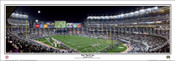 """One Yard Line"" Notre Dame Football at Yankee Stadium Framed Poster"