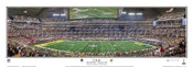 """1st & 10"" Super Bowl XLV Green Bay Packers Panoramic Poster"