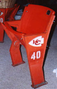 Arrowhead Stadium - Kansas City Chiefs Seat