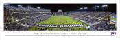 """TCU vs Kansas State"" Amon Carter Stadium Panorama Poster"