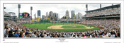 """First Pitch"" Pittsburgh Pirates at PNC Park Panoramic Poster"