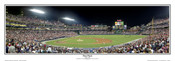"""First Pitch"" Atlanta Braves at Turner Field Panoramic Poster"