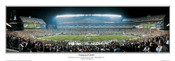 """Inaugural Game"" Philadelphia Eagles Panoramic Poster"