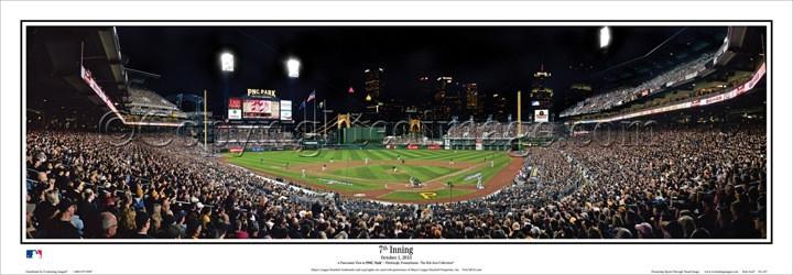 Panoramic MLB Ballpark Posters