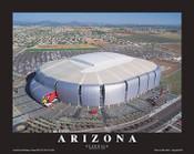State Farm Stadium Aerial Poster