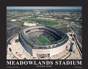 MetLife Stadium New York Giants Aerial Poster
