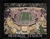 Memorial Stadium Aerial Poster