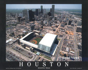 Minute Maid Park Aerial Poster