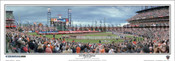 """2010 World Series"" San Francisco Giants Panoramic Framed Poster"