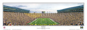 """End Zone"" Wolverines at Michigan Stadium Panoramic Poster"