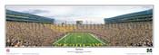 """End Zone"" Wolverines at Michigan Stadium Panoramic Poster"