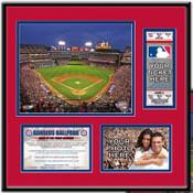 Rangers Ballpark in Arlington Ticket Frame - Rangers