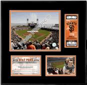 AT&T Park Ticket Frame - Giants