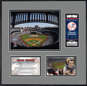 New Yankee Stadium Ticket Frame - Yankees