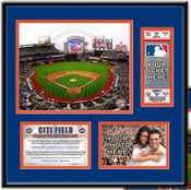 Citi Field Ticket Frame - Mets