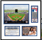 Kauffman Stadium Ticket Frame - Royals