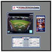 2000 World Series ReplicaTicket Frame - Yankees