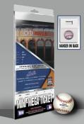 Citi Field Inaugural Game Mini-Mega Ticket - New York Mets