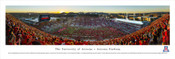 """Arizona State vs. Arizona"" Arizona Stadium Panorama Poster"