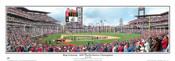 """""""Ring Ceremony"""" Philadelphia Philleis Panoramic Framed Poster"""