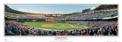 """Inaugural Game"" Nationals at RFK Stadium Panoramic Framed Poster"