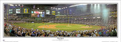 """First Pitch"" Arizona Diamondbacks Panoramic Poster"