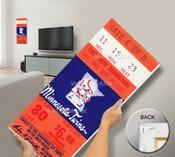 Final Game at Metropolitan Stadium Mega Ticket