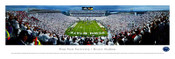 """Endzone"" Penn State Nittany Lions at Beaver Stadium Panorama Poster"