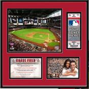 Chase Field Ticket Frame - Diamondbacks