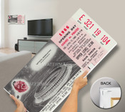 Atlanta Stadium Inaugural Game Mega Ticket