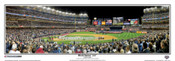 """2009 World Series"" New York Yankees Panoramic Framed Poster"
