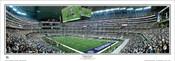 """""""Inaugural Game"""" AT&T Cowboys Stadium Panoramic Poster"""