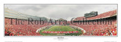 """End Zone"" Wisconsin Badgers Panoramic Poster"