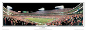 """35 Yard Line"" Kansas City Chiefs Panoramic Poster"