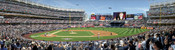 """First Pitch"" New York Yankees at Yankee Stadium Panorama Framed Poster"