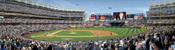 """First Pitch"" New York Yankees at Yankee Stadium Panorama Framed Poster"